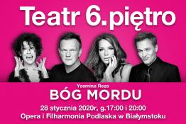 Białystok Wydarzenie Spektakl Bóg Mordu