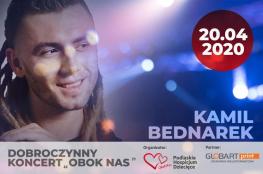 """Białystok Wydarzenie Koncert Kamil Bednarek - Dobroczynny Koncert """"Obok Nas"""""""
